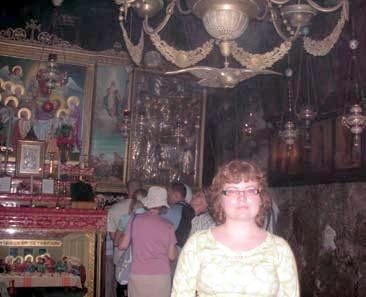 Jeruzalemē, Marijas debesbraukšanas baznīcā