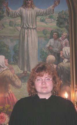 Pie Jaunciema evaņģēliski luteriskās baznīcas altāra